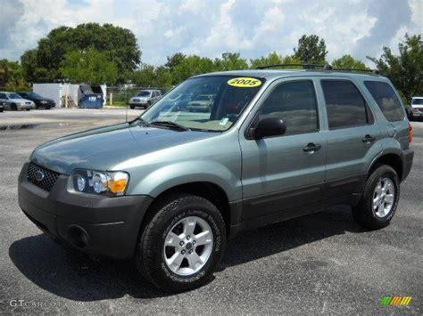 ford escape 2005 2005 titanium green metallic ford escape xlt v6 13749227