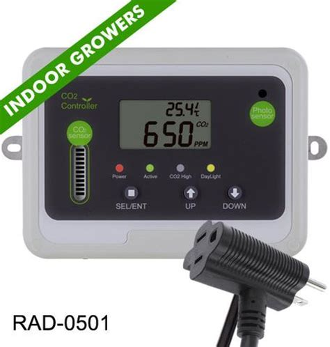grow room controller co2 meter day co2 monitor controller for greenhouses co2 monitor by co2meter