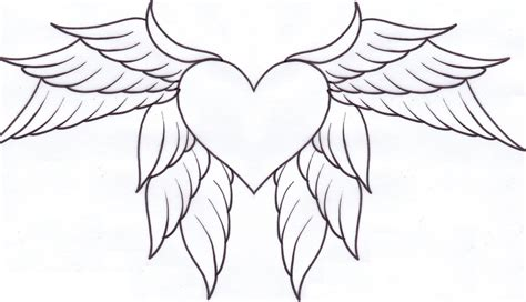 heart wings tattoo tattoos designs ideas and meaning tattoos for you
