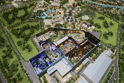 dubai theme parks check out the plans for dubai s 2 8 billion mega theme park
