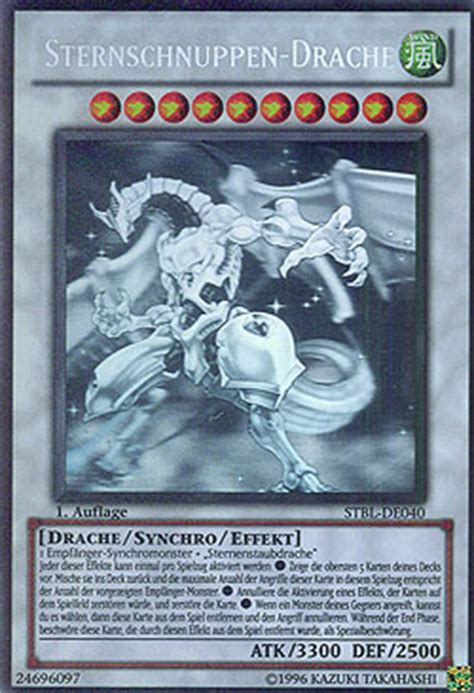 sternschnuppen drache deck mawo cards