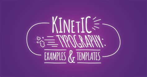 kinetic typography examples templates biteable