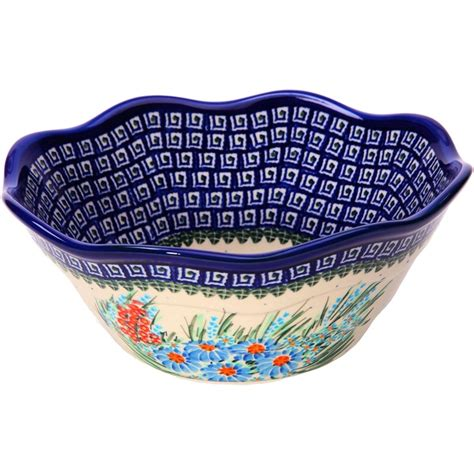 Polish Pottery Vase Gorgeous Polish Serving Bowl Decorate Pinterest