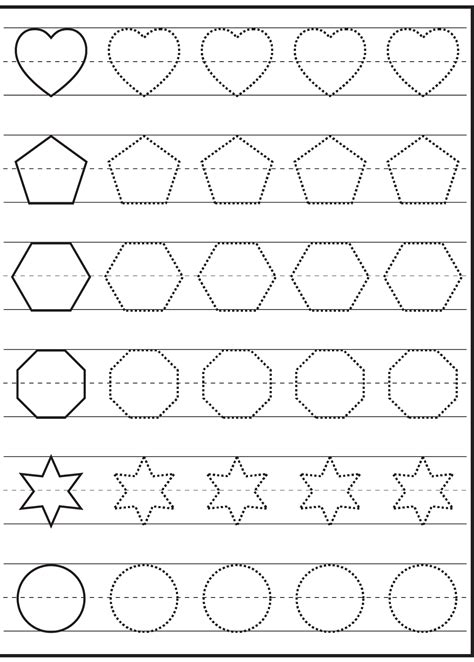Traceable Worksheets