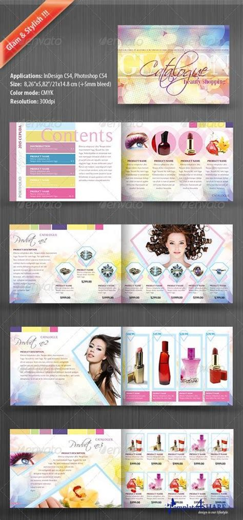 Graphicriver Product Catalog For Women 187 Templates4share Com Free Web Templates Themes And Catalog Template Photoshop