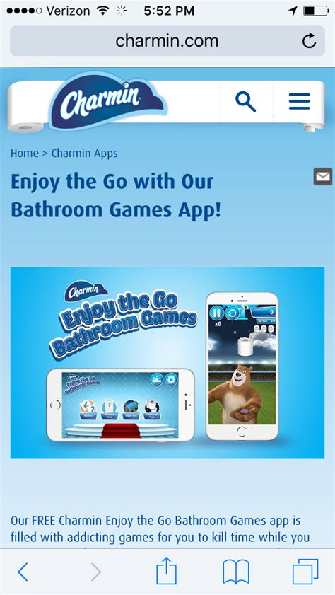 charmin bathroom app include charmin in your holiday celebrations and enjoy the