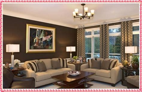 living room wall colours combinations brown color scheme in contemporary living room design