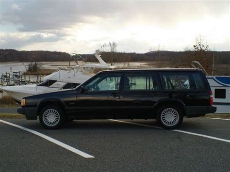 how petrol cars work 1992 volvo 740 electronic toll collection buy used 1992 volvo 740 t wagon 4 door 2 3l in stafford virginia united states