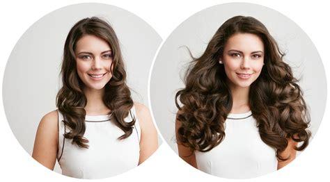 human hair clip hair extensions  hairstyles  women
