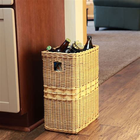 bathroom waste baskets popular bathroom wastebasket wicker the homy design