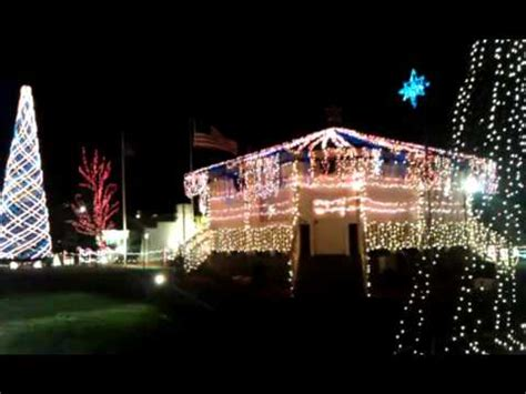 charlestown indiana christmas display 2011 youtube