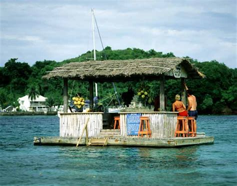 boat tours in ct floating tiki bar need to make this for up north at the