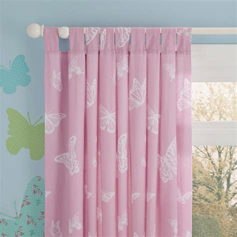 white curtains with butterflies butterfly themed kids curtains contemporary curtains