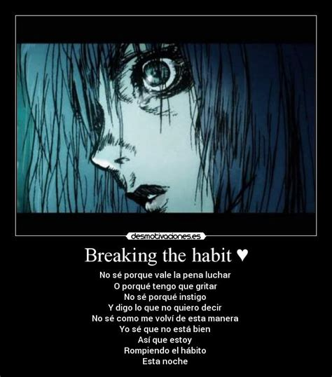 Breaking The Habit | breaking the habit linkin park quotes quotesgram