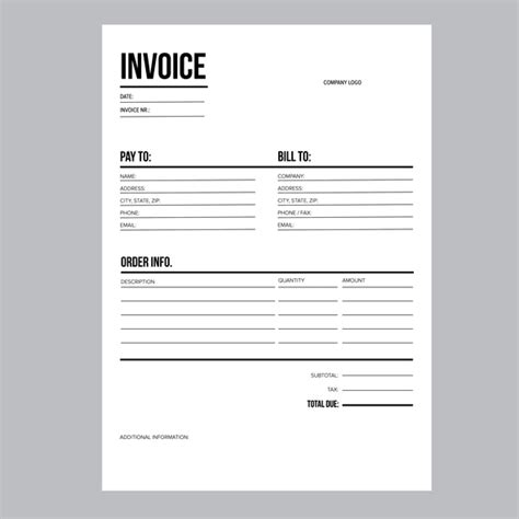 european invoice template invoice business template a4 european standard paper mcis language solutions