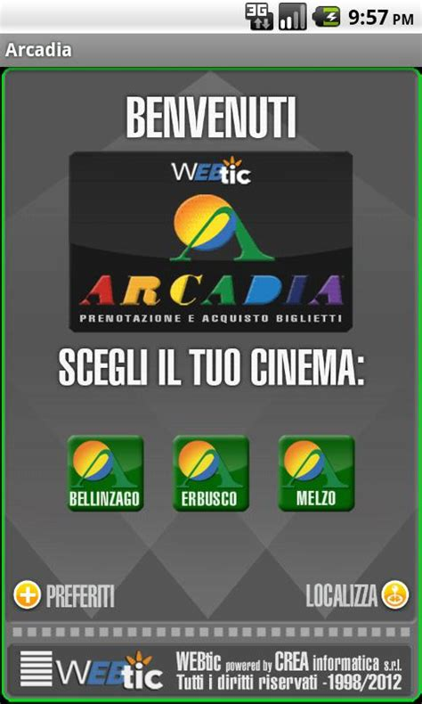 cinema arcadia porte franche webtic arcadia cinema android apps on play