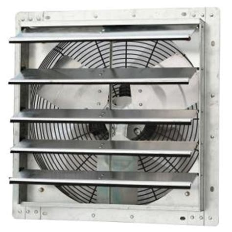 Kitchen Exhaust Fans Home Depot by Iliving 1750 Cfm Power 18 In Variable Speed Shutter