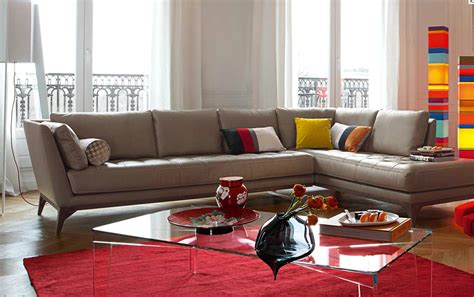 roche bobois perception sofa roche bobois perception sectional living room