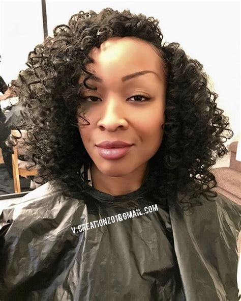 cute kinky curls with wand 248 best images about crochet braids hairstyles on
