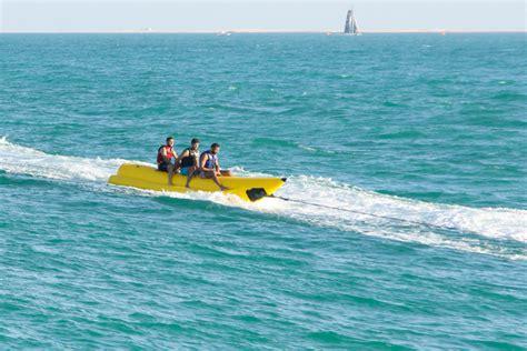 banana boat ride dubai banana boat ride at umm suqeim beach cleartrip