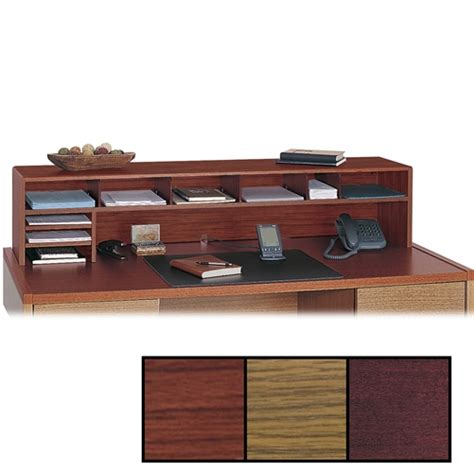 Desk Top Organizer Hutch Desk Organizer Hutch Best Home Design 2018