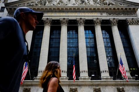 Walk On By The New York Stock Exchange by Wall Rises On Fed Bets But Korea Mutes Gains