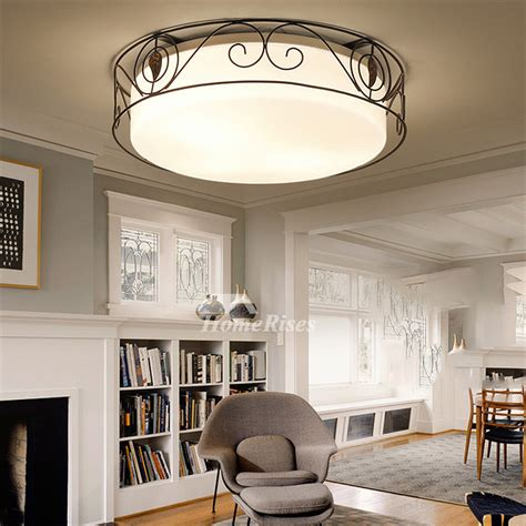 wrought iron flush mount lighting flush mount ceiling lights wrought iron glass country
