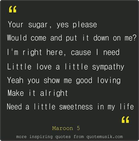 printable lyrics sugar maroon 5 337 best images about music on pinterest iggy azalea