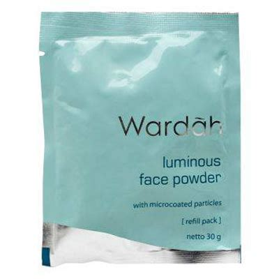 Bedak Makeover Wardah wardah make up series