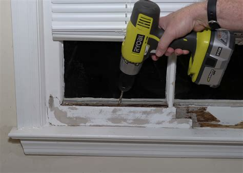 Fix Window Sill Repair A Rotted Window Sill Self Made Homes