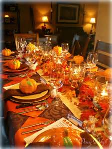 Fall Table Settings Dining Delight Fall Dinner For Ten