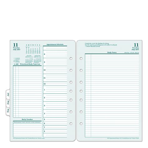 franklin covey to do list template daily quarter pack franklincovey