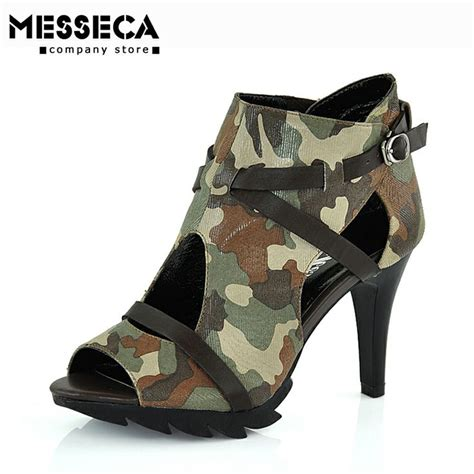 camouflage high heels messeca ultra high heels camouflage cloth s