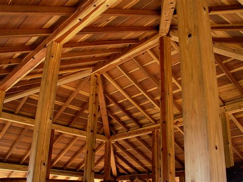 Timber Frame Hip Roof Santa Timberframes