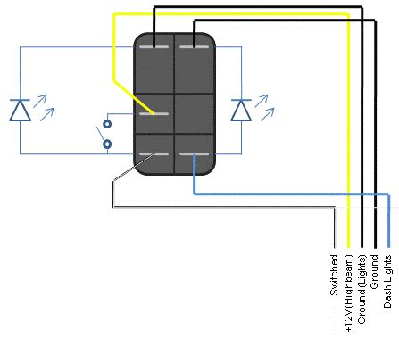 how to wire a rocker switch diagram toggle switch wiring light switch free printable wiring diagrams