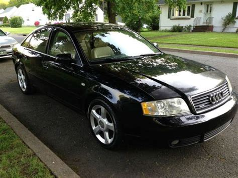 automobile air conditioning repair 2003 audi a6 on board diagnostic system sell used 2003 audi a6 2 7t automatic black ext ebony vanilla int sport seats in riverdale