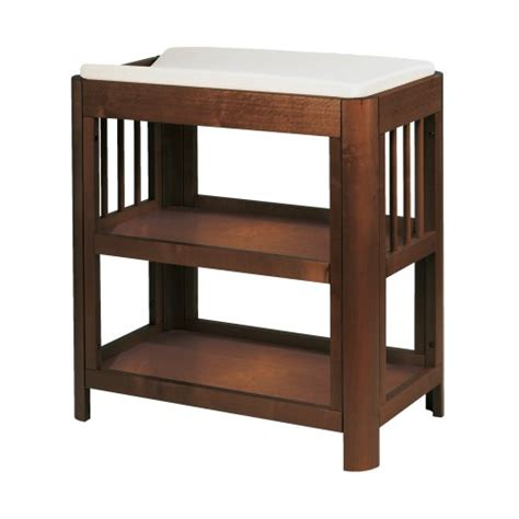 Giggle Better Basics Harper Changing Table Walnut Lasse Walnut Changing Table
