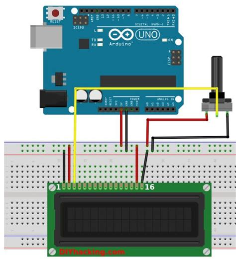 tutorial lcd com arduino how to connect an lcd display to your arduino diy hacking
