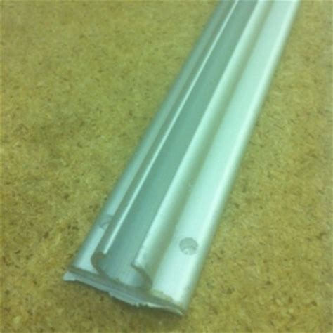Caravan Awning Rail by Awning Rail 1 2m Aluminium Rail For Caravan Or Motorhome