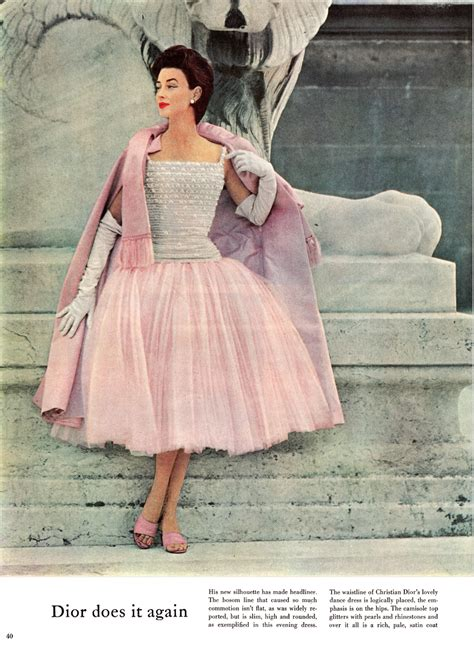 Fashion Feature by Zips Darts Return To Elegance Mccall S 1954 Fashion