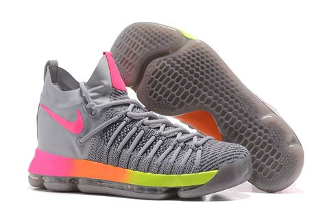 kd elite basketball shoes cheap nike kd 9 ix elite basketball shoes grey white