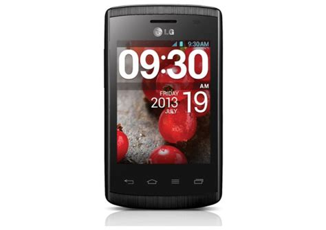 Hp Lg Jelly Bean lg optimus l1 ii launched with 3 inch display and android jelly bean bgr india