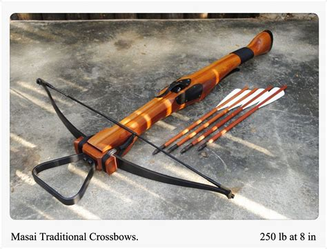 Handmade Crossbow - wooden crossbow plans woodproject