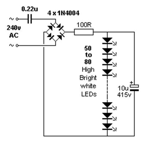 ac led resistor calculator 30 led projects