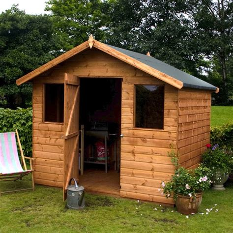 Garden Shed Windows by 8 X 6 Wooden Garden Shed