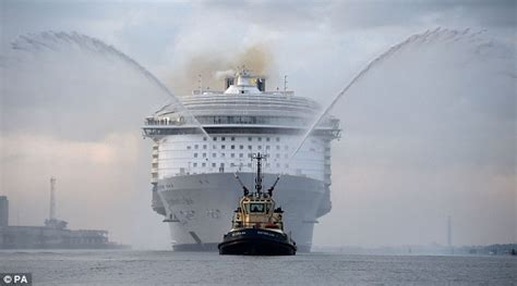 Largest Ship In The World by Massive Cruise Liners Each Spew Out As Much Sulphurous