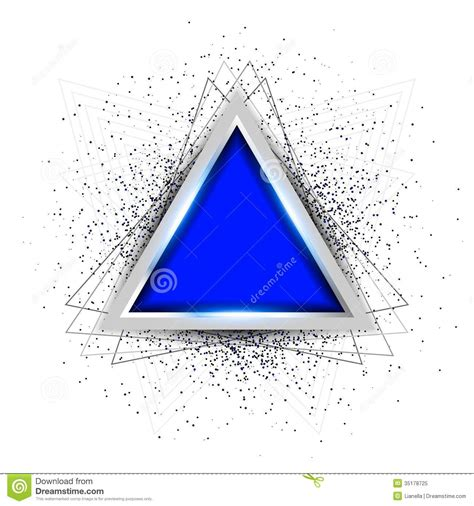 triangle layout vector abstract triangle background royalty free stock photo