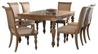 dining room set 7 piece american drew grand isle 7 piece leg dining room set in