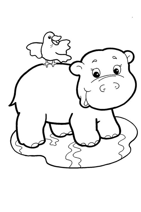 13 best images about hippo on pinterest coloring pages