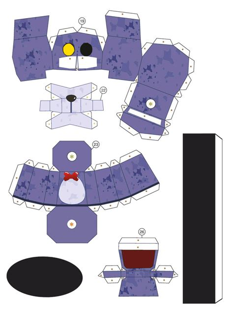 Papercraft Roblox - f naf papercraft templates pictures to pin on